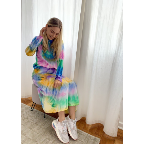 Midi Basic Sofia Tie Dye