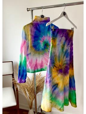 Conjunto Basic Tie Dye